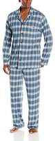Tommy Bahama Men's Printed Cotton Modal Jersey Notch Collar Pajama Set