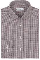 Etro Men's Gingham- & Diamond-Pattern Cotton Shirt