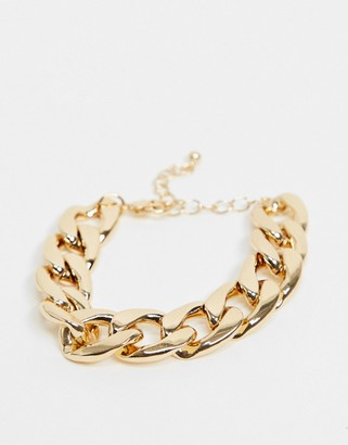 Liars & Lovers chunky chain link bracelet in gold