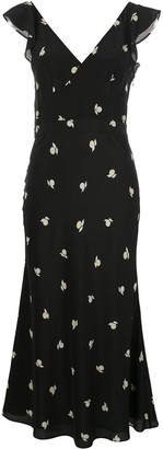 Jason Wu Fruit Print Midi Dress