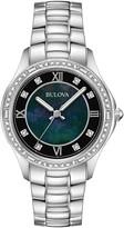 Bulova Women's Quartz Analog Crystal Bracelet Watch, 32mm