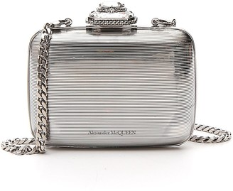 Alexander McQueen Metallic Clutch Bag