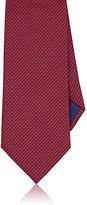Brioni Men's Tessellated-Star Necktie-RED