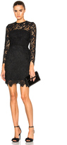 Nicholas Wallpaper Lace Mini Dress
