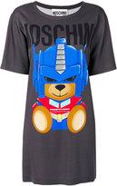 Moschino Transformer bear T-shirt dress - women - Viscose/other fibers - 36