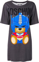Moschino Transformer bear T-shirt dress