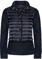 Moncler Quilted Shell Down Jacket - Storm blue