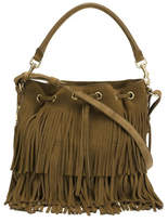 Saint Laurent Medium 'emmanuelle' Bucket Bag - Brown