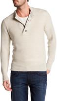 J Brand Robbins Crew Neck Wool Sweater