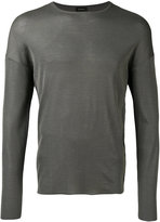 Jil Sander longsleeved T-shirt - men - Silk - 48