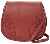 Foley + Corinna Stevie Small Leather Saddle Crossbody