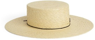 Maison Michel Lana Straw Hat