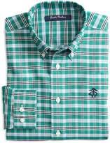 Brooks Brothers Boys' Non-Iron Tattersall Sport Shirt