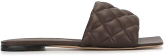 Bottega Veneta Padded Flat Sandals