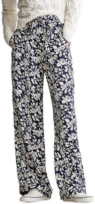 Polo Ralph Lauren Satin Floral Pant
