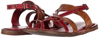 Bed Stu Manati II (Cherry/Mustard Rustic) Women's Shoes