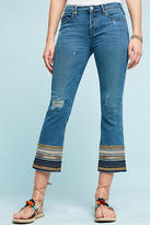 McGuire Ambrosio Mid-Rise Embroidered Straight Jeans