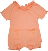 Baby Soy Bubble Romper (Baby) - Cantaloupe-12-18 Months