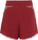 IRO Ora sequin-embellished shorts
