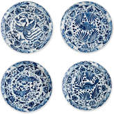 Eichholtz Wall Charger Plate Set Of 4 Chinese Blue