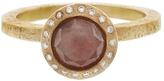 Todd Reed Pink Diamond Solitaire Ring in Yellow Gold