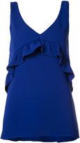 P.A.R.O.S.H. sleeveless ruffle blouse - women - Polyester - 36