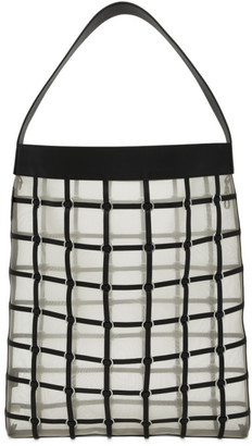 3.1 Phillip Lim Black Large Billie Twisted Cage Tote