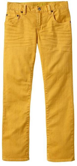 Gap 1969 Yellow Straight Jeans