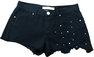 Pinko Black Cotton Shorts for Women