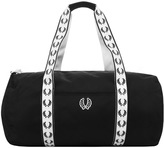 Fred Perry Classic Track Barrel Bag Black