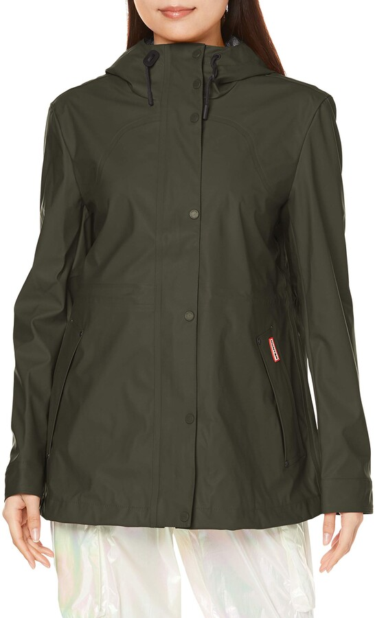 Thumbnail for your product : Hunter Lw Rubberised Womens Jacket Dark Olive L