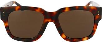 Linda Farrow Amber D-Frame Sunglasses
