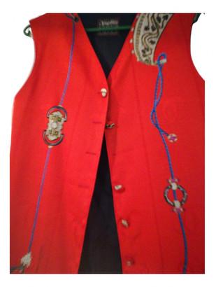 Cartier Red Silk Jackets