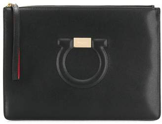 Salvatore Ferragamo Gancini City Pouch Bag