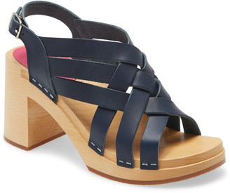 Swedish Hasbeens Vivi Platform Sandal