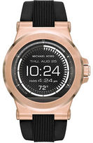Michael Kors MK Access Dylan Rose Goldtone Smartwatch