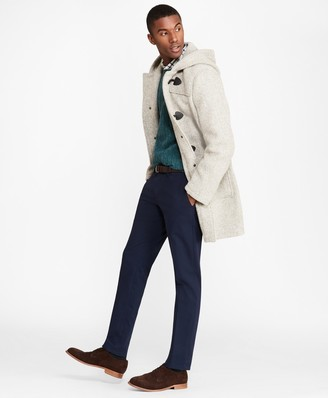Brooks Brothers Textured Wool Duffle Coat