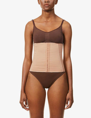 SKIMS Boned stretch-woven waist trainer