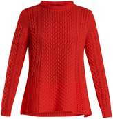 QUEENE AND BELLE Alpina cable-knit cashmere sweater