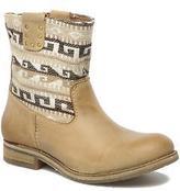 Koah Women's Dalia Rounded Toe Ankle Boots In Beige - Size Uk 3.5 / Eu 36