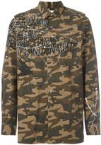 Faith Connexion camouflage shirt jacket - men - Cotton - XS
