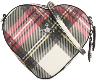Vivienne Westwood Derby Coated Canvas Heart Bag