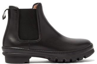 LEGRES Garden Trek-sole Leather Chelsea Boots - Black