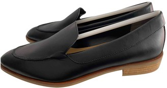 Everlane Black Leather Flats