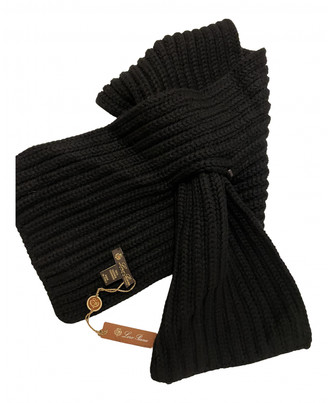 Loro Piana Black Cashmere Scarves & pocket squares
