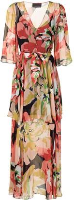 Ginger & Smart Delirium floral maxi dress