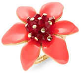 Kate Spade New York Lovely Lilies Cluster Ring