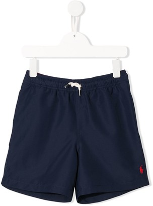 Ralph Lauren Kids Logo Swim Shorts
