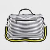 Mossimo Women's Striped Nylon Weekender Handbag