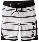 Hurley Striped Hangout Walk Shorts (Little Boys)
